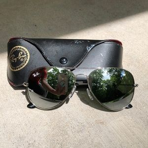 Ray-Ban Mirrored Aviators